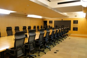 Use conference room methods to tell your analytics story.