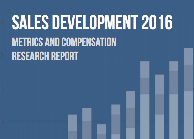 Bridge Group Sales Development 2016 Report